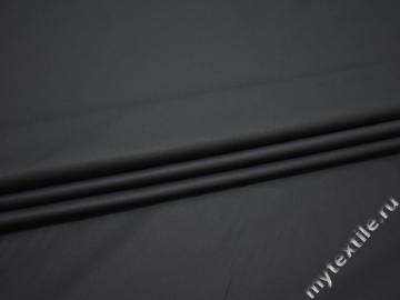 Курточная темно-синяя ткань хлопок полиэстер эластан ДЁ3128