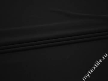 Вискоза черного цвета БЕ674