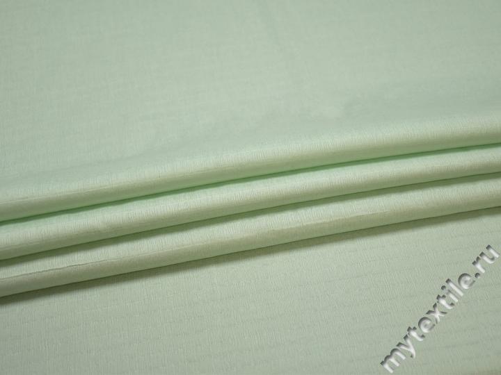 Рубашечная ментоловая ткань вискоза хлопок БЕ627