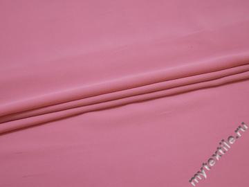 Плательный креп розовый вискоза полиэстер БЕ65