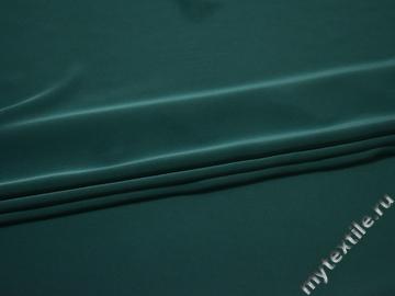 Плательная бирюзовая ткань полиэстер БЕ61