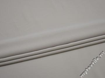 Плательная серая ткань полиэстер БД657
