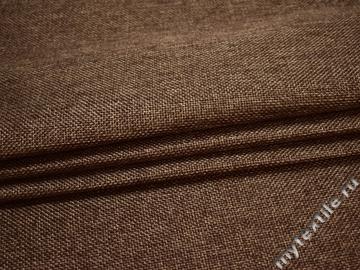 Обивочная рогожка коричневая полиэстер ЕВ55