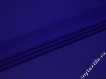 Шифон синий полиэстер ГБ623