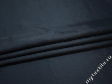 Подкладочная синяя ткань вискоза ацетат ГА318