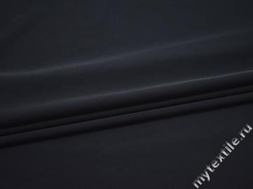 Костюмная синяя ткань полиэстер эластан ЕА529