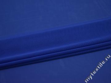 Сетка-стрейч синяя полиэстер БД260