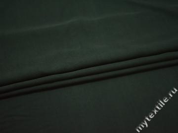 Плательная изумрудная ткань вискоза хлопок БГ45