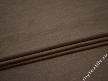 Джинс коричневый хлопок эластан ВА256