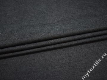 Джинс серый шелк хлопок ВА193