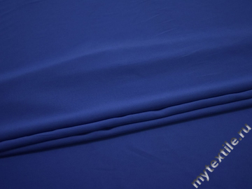 Вискоза синего цвета БД752