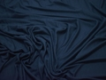Трикотаж синий вискоза хлопок АД157