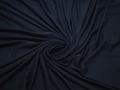 Трикотаж синий вискоза хлопок АК738