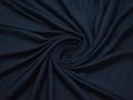 Трикотаж синий хлопок АД151