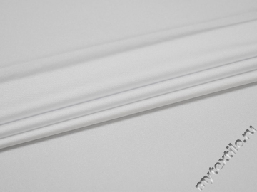 Бифлекс блестящий белого цвета АБ2107