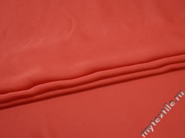 Плательная коралловая ткань вискоза хлопок ЕВ336