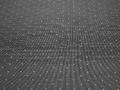 Рубашечная белая черная ткань геометрия хлопок ЕБ153
