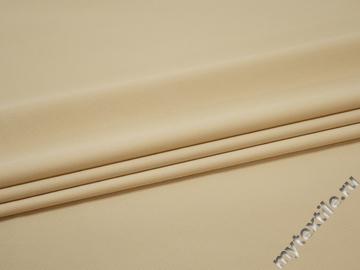 Плащевая светло-серая ткань полиэстер БЕ1140