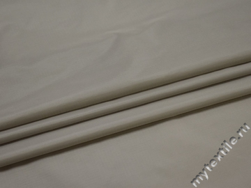 Курточная серая ткань полиэстер БЕ380
