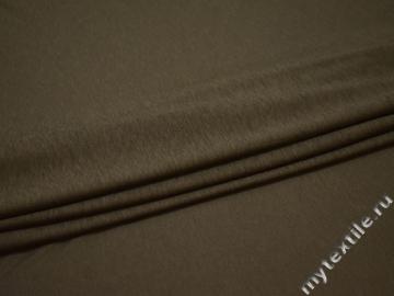 Трикотаж кулирка цвета хаки хлопок АВ368
