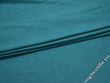 Трикотаж кулирка голубой вискоза хлопок АВ358