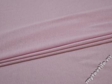 Трикотаж розовый хлопок АВ353