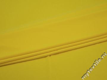 Трикотаж желтый полиэстер АВ275