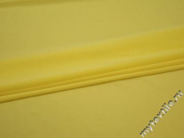 Трикотаж желтый полиэстер АВ272