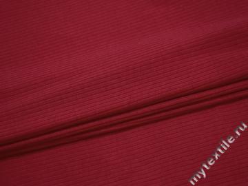Трикотаж красный хлопок АГ625