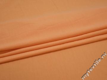 Трикотаж оранжевый хлопок АГ382
