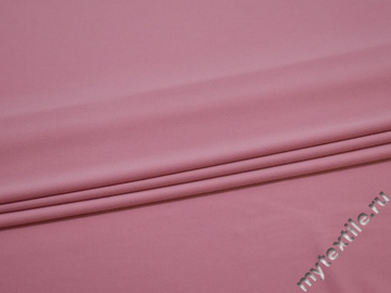Трикотаж розовый полиэстер АГ381