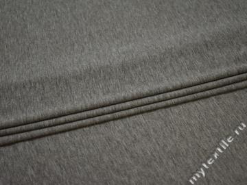 Трикотаж серый полиэстер АГ156