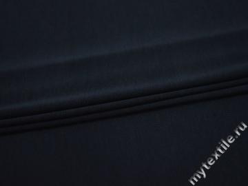 Трикотаж синий хлопок АВ588
