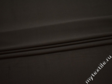 Трикотаж коричневый полиэстер АВ642