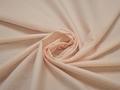 Рубашечная молочная оранжевая ткань горох хлопок ЕВ537