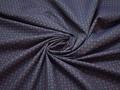 Рубашечная синяя красная ткань геометрия хлопок ЕВ526