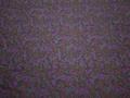 Рубашечная фиолетовая бирюзовая ткань принт хлопок ЕА2107
