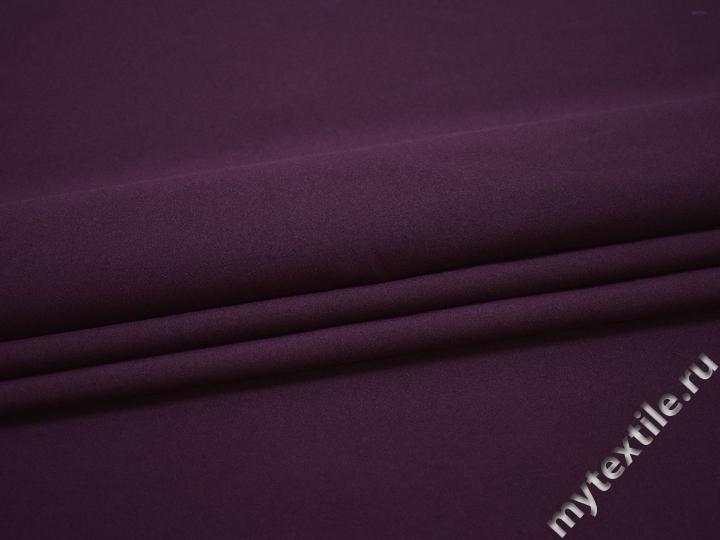Габардин фиолетового цвета полиэстер ВБ271
