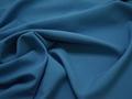 Габардин голубого цвета полиэстер ВБ276