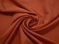 Габардин терракотового цвета полиэстер ВБ280