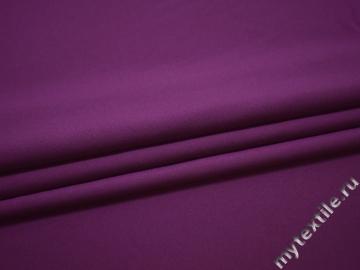 Габардин фиолетового цвета полиэстер ВБ282