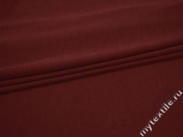 Трикотаж бордовый хлопок полиэстер АК543