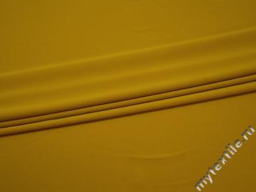 Трикотаж желтый полиэстер АК541