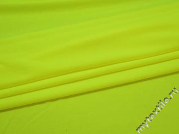 Трикотаж салатовый полиэстер АК519
