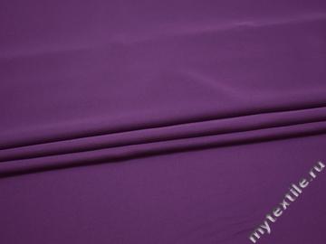 Плательная фиолетовая ткань полиэстер ДЁ410