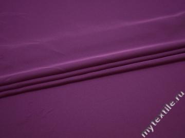 Плательная сиреневая ткань полиэстер ДЁ411