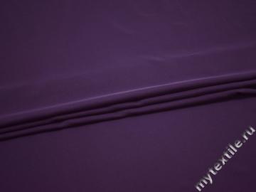 Плательная фиолетовая ткань полиэстер ДЁ414