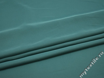 Плательная голубая ткань полиэстер ДЁ420