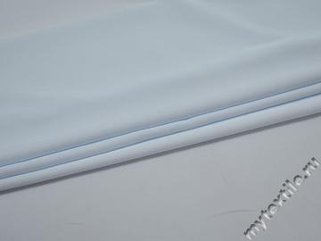 Плательная голубая ткань полиэстер ДЁ427