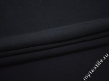 Пальтовая синяя ткань шерсть полиэстер ГЁ28